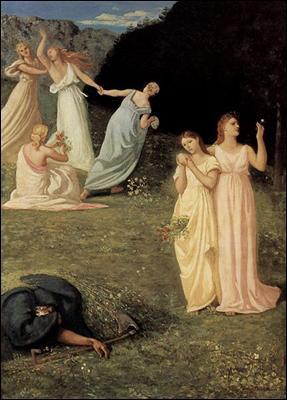 Quel peintre symboliste a réalisé 'La Mort et les Jeunes filles' ?