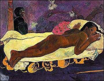 Quel peintre post-impressionniste a réalisé 'L'esprit des morts veille' ?