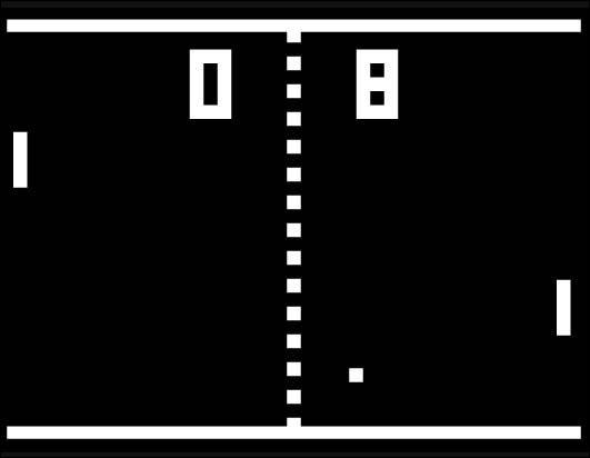 En quelle année est sorti le jeu Pong ?