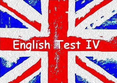 'English Test IV'