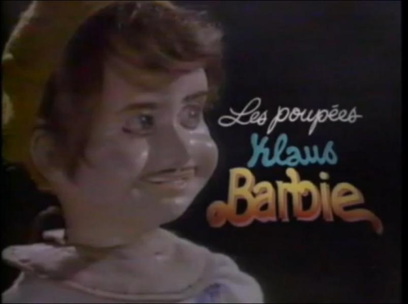 Les images de quel film sont utilisées pour le sketch Les Poupées Klaus Barbie des Inconnus ?