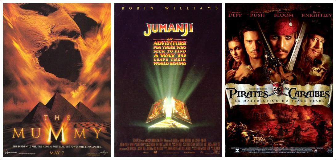 Quel film d'aventures n'a pas été adapté en dessin animé ?