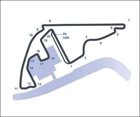 Dans quel pays se trouve se GP d'Abu Dhabi ?