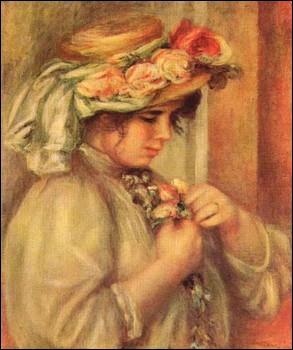 Qui a peint Jeune fille au chapeau ?