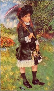Qui a peint 'Fillette au parc' ?