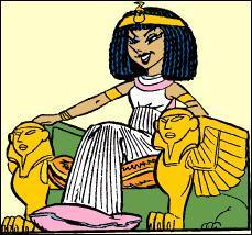 Comment s'appelle cette reine égyptienne ?