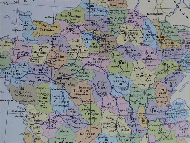 Combien existe t-il de département en France ?