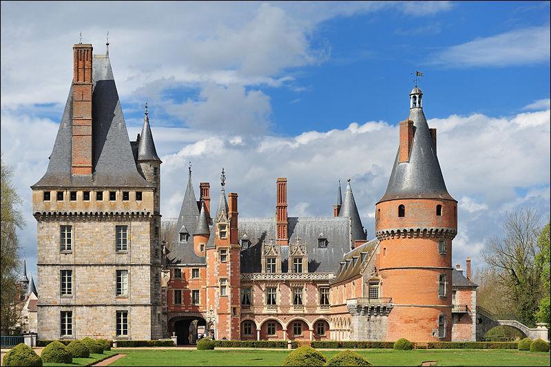 L'image représente le château de...