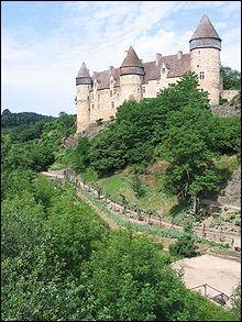 Cette image représente le château...
