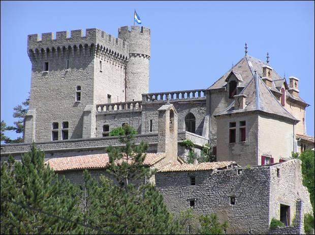 C'est le château...