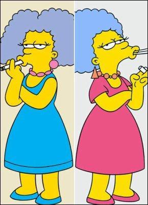Comment se nomme les soeurs de Marge ?