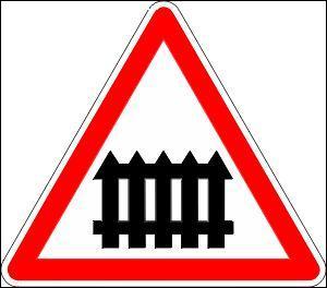 Cette barrière indique :