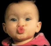 Au cul de quel animal vous fait penser la bouche de ce bébé ?
