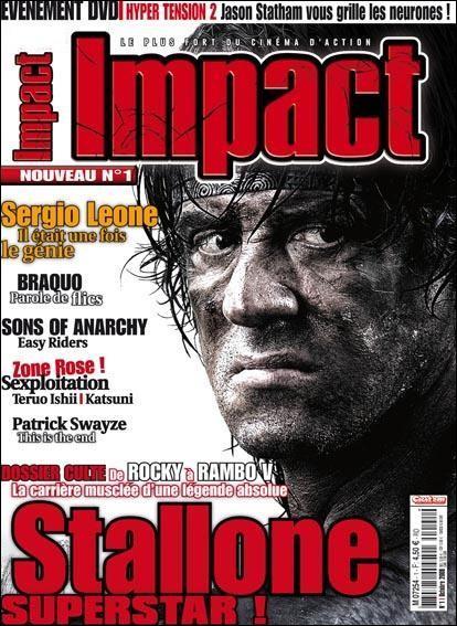 Par l'équipe de quel magazine de cinéma fantastique est fait Impact ?