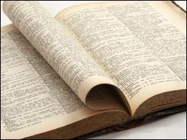 Dans quoi peut-on trouver des définitions de mots ?