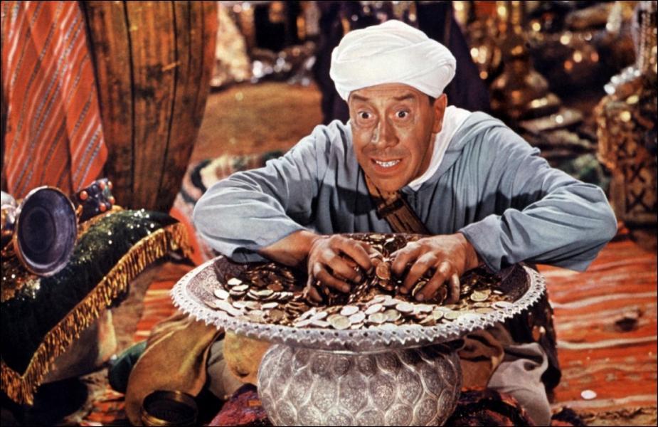 Quelle formule magique Ali Baba doit-il prononcer pour ouvrir la cachette des quarante voleurs ?
