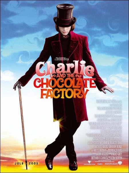 Quel est le nom du chocolatier, qu'incarne Johnny Depp et qui réalisa ce film ?