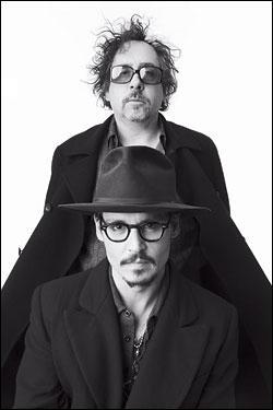 Combien de films constituent la colaboration entre Tim Burton et Johnny Depp ?