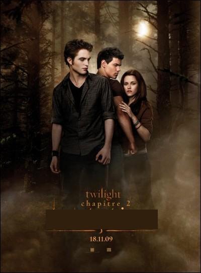 Comment s'appelle le deuxième chapitre de Twilight ?