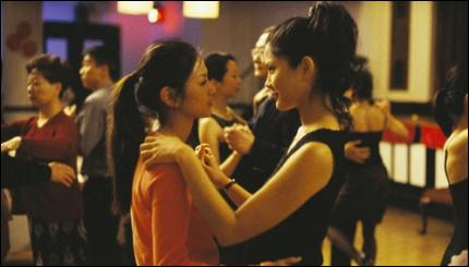 Quel film se termine sur cette scène de danse entre deux femmes amoureuses ?