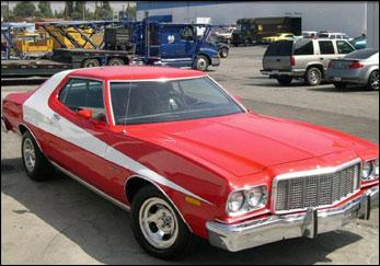 Quelle est la voiture devenue culte de Starsky & Hutch ?