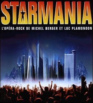 Version anglaise de l'opéra rock ' Starmania'.