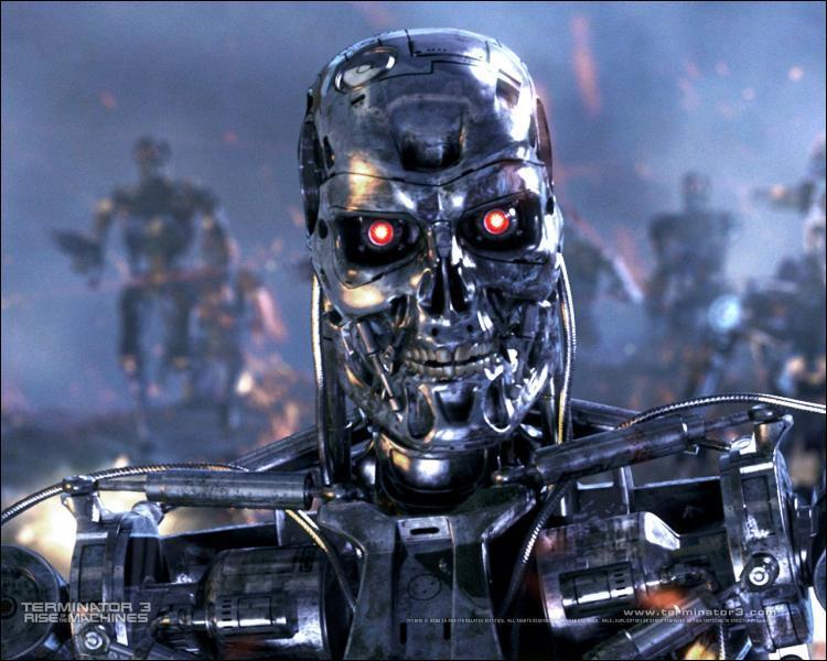 Nom de ce robot venu du futur ou combattant dans le futur.