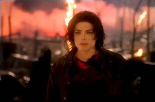 Dans quel clip MJ est au milieu d'une fôret ravagée ?