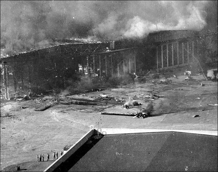 Du côté américain, combien d'avions furent détruits ?