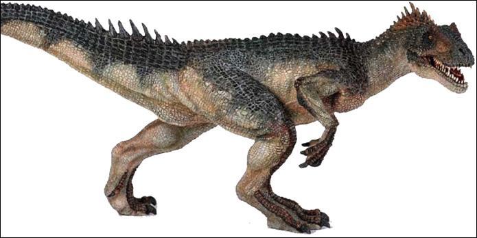 Comment s'appelle ce dinosaure carnivore ?