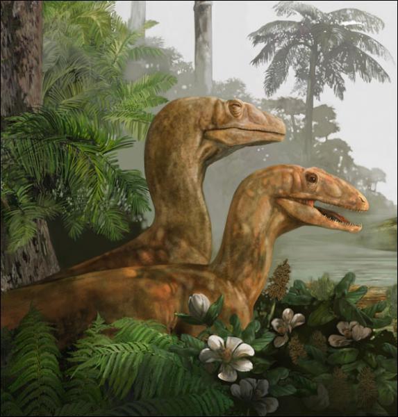 Comment s'appelle ce dinosaure qui chasse en meute ?