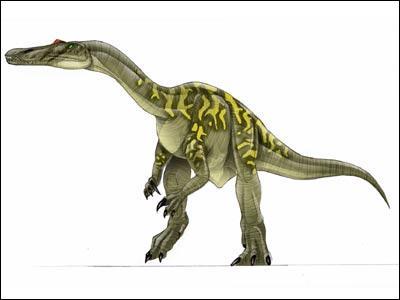 Comment s'appalle ce dinosaure mangeur de poisson ?