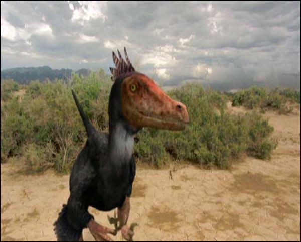 Comment s'appelle ce dinosaure très rapide ?