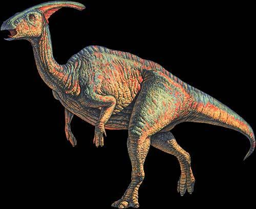 Comment s'appelle ce dinosaure à bec de canard ?