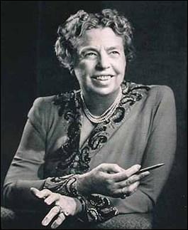 Eleanor Roosevelt (première dame des États-Unis)