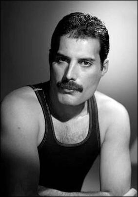 Freddie Mercury (chanteur du groupe Queen)