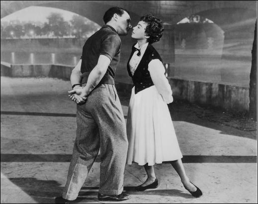 De quel film Gene Kelly et Leslie Caron étaient-ils les vedettes ?