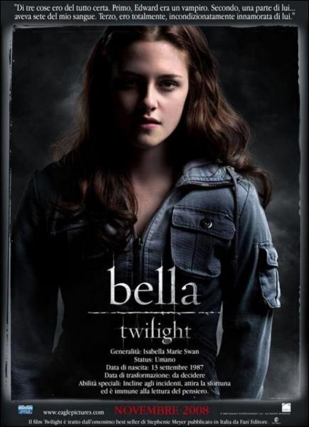 Comment s'appelle la ville où Bella va habiter ?