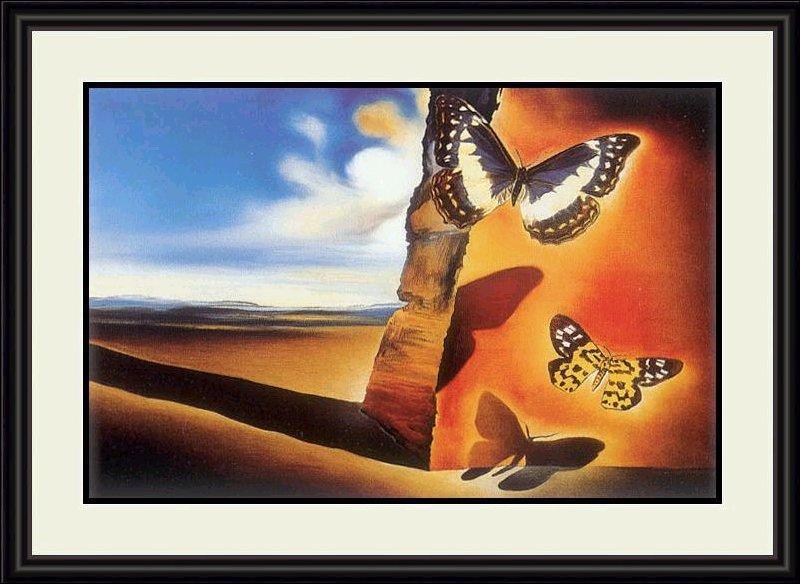 Paysage aux papillons :