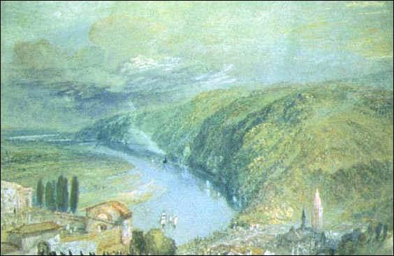 Qui a peint 'Caudebec-en-Caux' ?