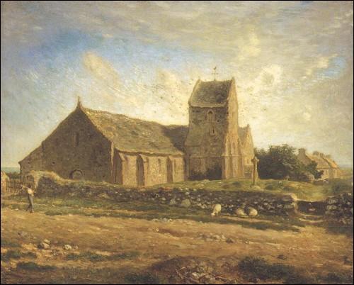 Qui a peint ' L'église de Gréville' ?