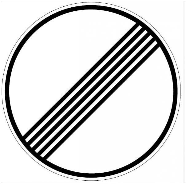 Que signifie ce panneau ? (2)