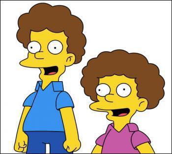Comment s'appellent les garçons de la famille Flanders ?
