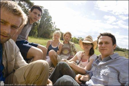 Où les jeunes du film Les Ruines sont-ils en vacance ?