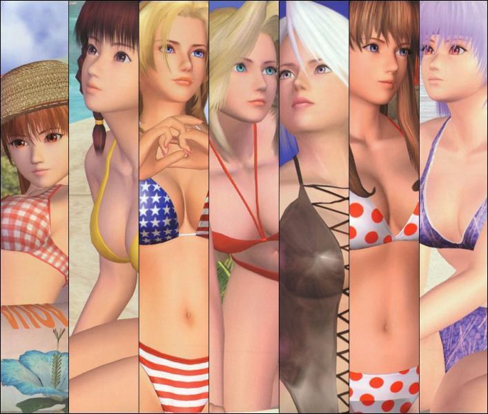 Les héroïnes de quelle saga de jeux videos ont elles leur propre jeu de beach-volley ?