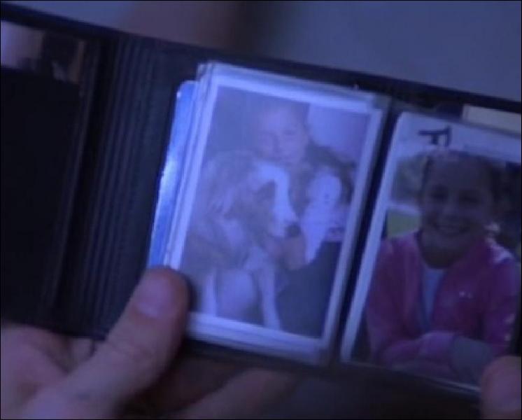 Qu'y a-t-il dans le portefeuille de Lawrence ?