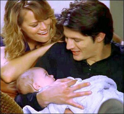 Qui est le parrain du bébé de Haley et Nathan ?