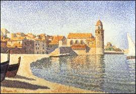 Quel port de pêche, lieu de séjour de nombreux peintres a été représenté par Paul Signac ?
