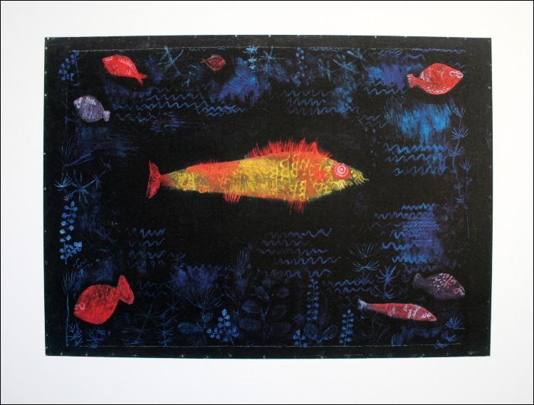 Quel est le titre de ce tableau du peintre suisse Paul Klee ?