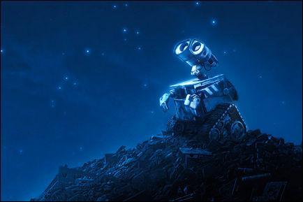 'Au début du XXIIe siècle, la surconsommation a tôt fait de transformer le monde en un dépotoir et on fait appel aux robots. 'Mais de quel film s'agit-il ?